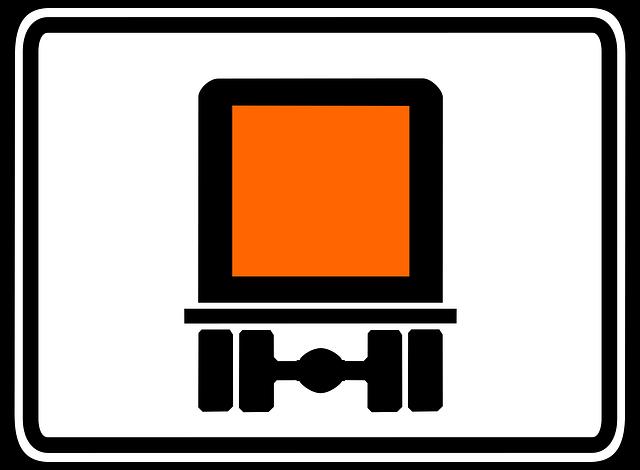 Señal mercancías peligrosas